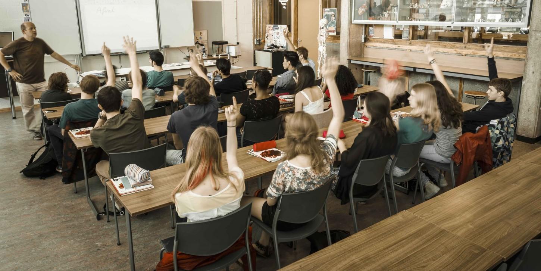 Klassikaal onderwijs Gerrit van der Veen College