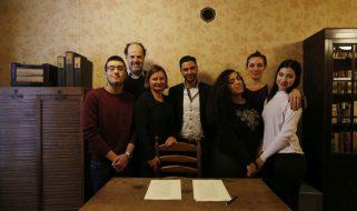 Partnerschoolovereenkomst Calvijn College en Anne Frank Stichting